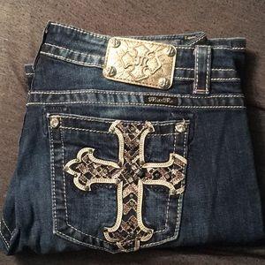 MissMe Jeans, size 34, inseam 29